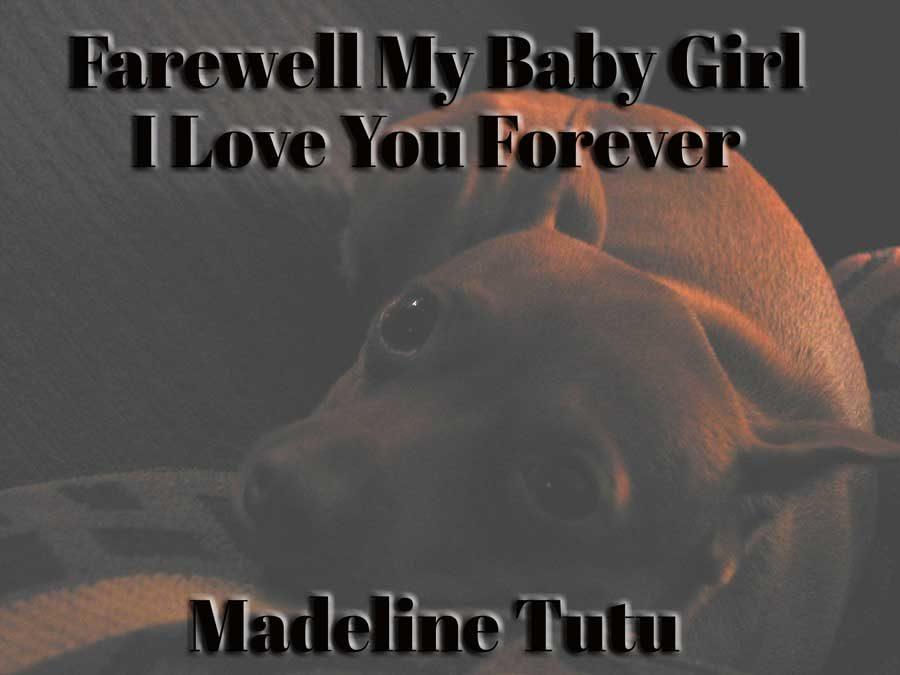 Farewell Baby Girl