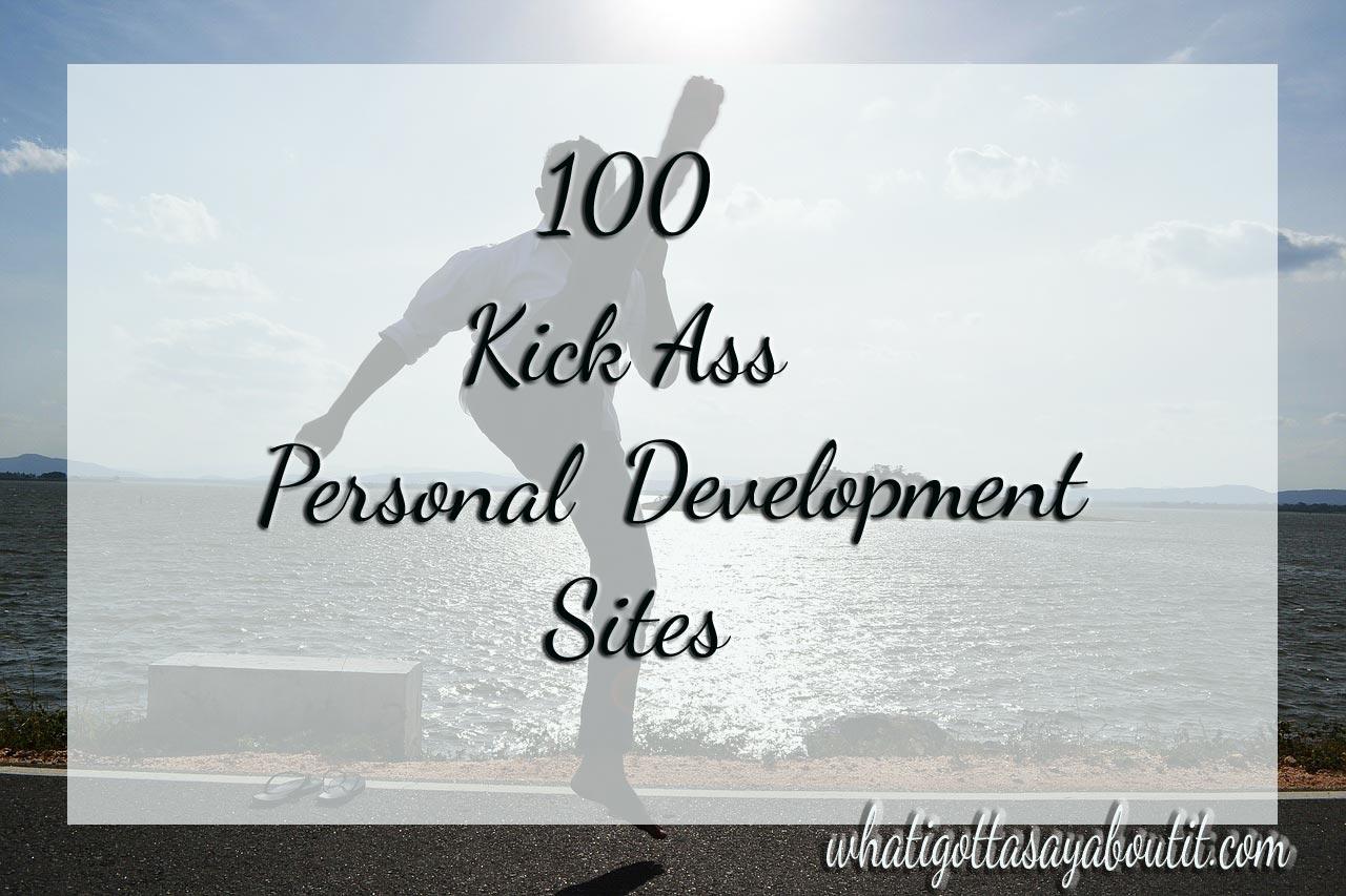 100 Kick Ass Personal Development Sites